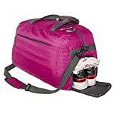 Coreal sport gym bag duffel bag with shoes compartment for men and women Pink