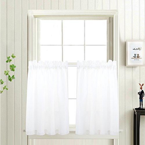 bathroom curtain panels - 1