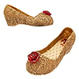 Disney Belle Costume Shoes for Kids Size 9/10 Yth Yellow