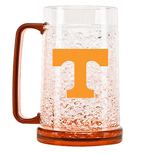 NCAA Tennessee Volunteers 16oz Crystal Freezer Mug