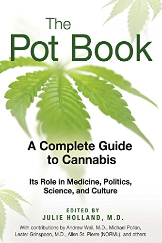 Amazon the pot book a complete guide to cannabis ebook md the pot book a complete guide to cannabis by holland md julie fandeluxe Images