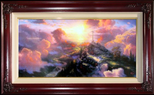 The Cross by Thomas Kinkade 12'' x 24'' Gallery Proof by Thomas Kinkade The Cross