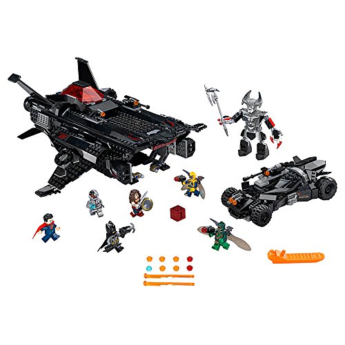 LEGO Super Heroes 76087 Flying Fox: Batmobile Airlift Attack (955 Piece) (Sets League Dc Justice Lego)