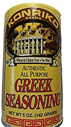 Konriko Authentic Greek Seasoning -- 5 Oz (Pack Of 6)