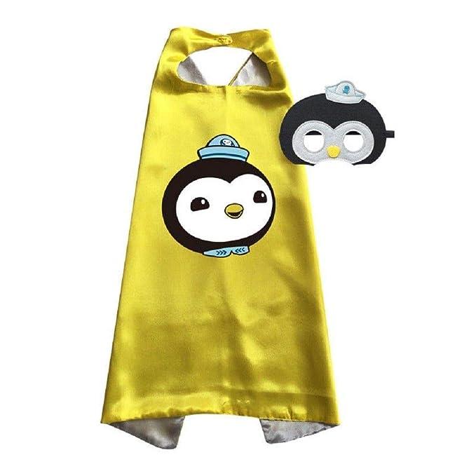 Amazon.com: Octonauts - Disfraz de capa y máscara de ...