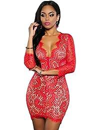 Vestidos De Fiesta Ropa De Moda Para Mujer Blancos Negros Rojos Sexys Cortos Casuales Dia y Noche Elegantes