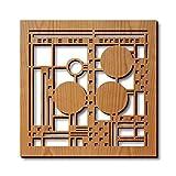 Frank Lloyd Wright Coonley Hardwood Trivet