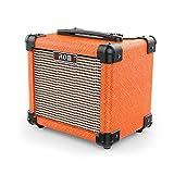"Aroma Guitar Amp 10W Mini Portable Amplifier Speaker Accept 1/4"" Guitar Cable"