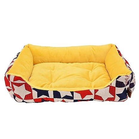 laamei Cama para Mascotas Suave y Acogedor Colchoneta Cama de Dormir para Perros Gatos Cachorro Sofa