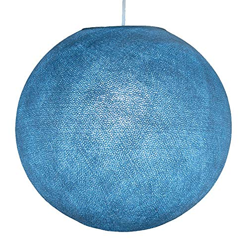 Amazon.com: Denim - Pantalla redonda de tela azul para ...