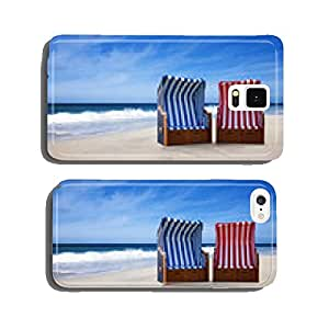 Two beach chairs cell phone cover case Samsung S5