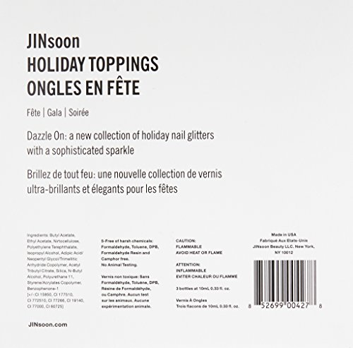 JINsoon Holiday Toppings Nail Lacquer Gift Set