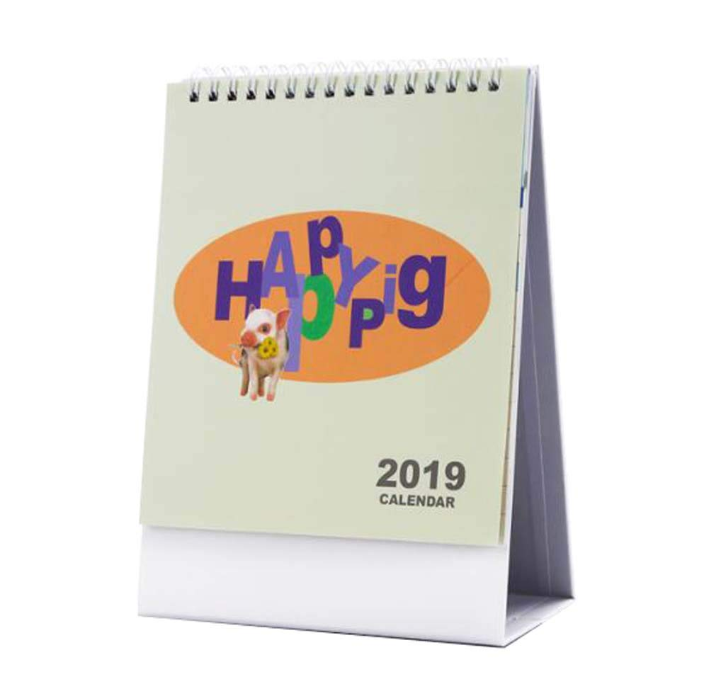 Beautiful Scenery 2019 Calendar Office/School/Home Supplies,A06