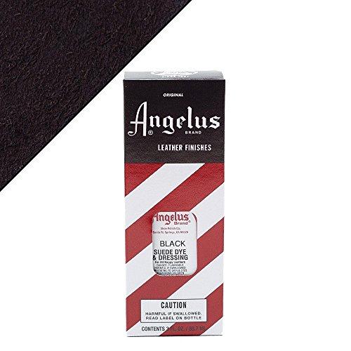 Angelus Suede Dye Black (Suede Black Paint)