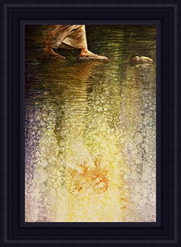 Faith Open Edition Giclée On Canvas 24 X 36 Frame A by Yongsung Kim
