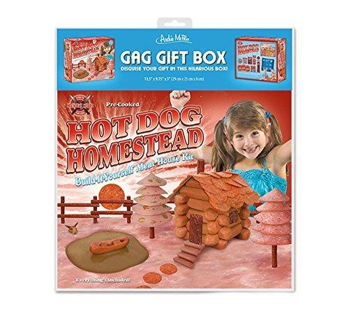 Hotdog Homestead Gag Wrap Gift Box -