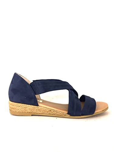 Damen Sandalen, blau - blau - Größe: 36 Zeta Shoes