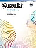 Suzuki Violin School, Vol 1: Violin Part (Book & CD)