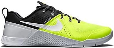 Nike Metcon 1 Mens Trainers 704688 Sneakers Shoes (UK 9 US 10 EU 44, Volt White Black Pure Platinum 710)