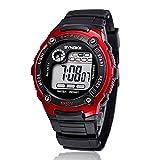 AmyDong Boy's Digital LED Quartz Alarm Date Sport Watch
