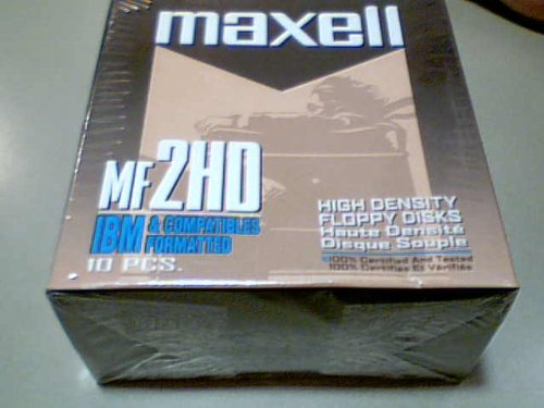 Maxwell Corporation Maxwell Mf2hd High Density Floppy Disks