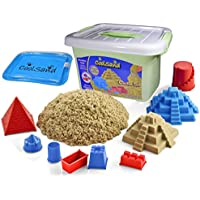 CoolSand Deluxe Bucket Kinetic Sand w/ Inflatable Sandbox