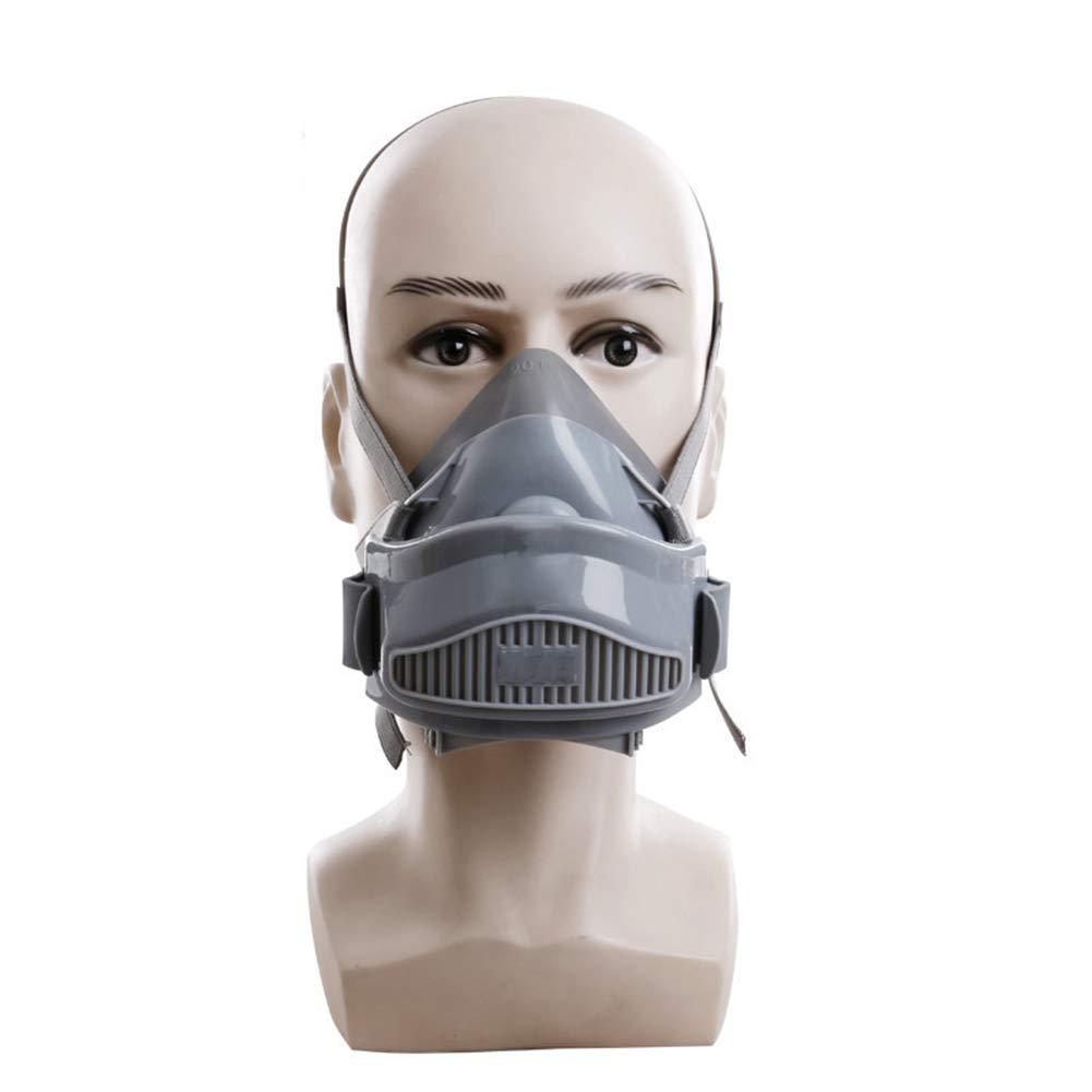 De Carbón Máscara Laiabor Reutilizable Con Respiratoria Filtros