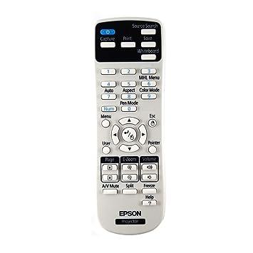 Original Epson EB-1420Wi/eb1420wi Proyector mando a distancia ...