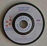 4-1/2'' x 1/8'' x 7/8'' Flexible Grinding Wheel 36 grit green disc - 25 PACK