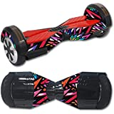 MightySkins Protective Vinyl Skin Decal for Self Balancing Board Scooter Hover 2 Wheel Mini Board Unicycle Bluetooth wrap Cover Sticker Color Bomb