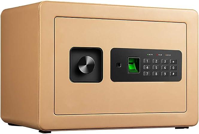 JCJ-Shop Cajas Fuertes PequeñAs para Uso DoméStico, con Caja Fuerte Llave en La Pared de 16L para Interior IgníFuga, Caja de Dinero Grande 16L 350mmx250mmx250mm-Negro: Amazon.es: Hogar