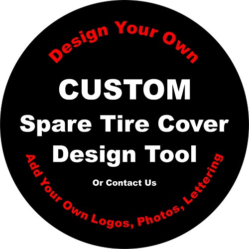 Custom Spare Tire Cover for Jeep RV Camper VW Trailer etc(Select popular sizes from drop down menu or contact us-ALL SIZES AVAILABLE)Tire Cover Central by Tire Cover Central (Image #8)
