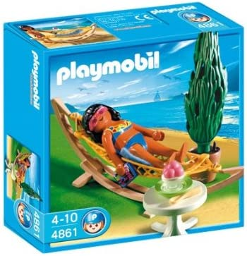 PLAYMOBIL/® 4861 Frau in H/ängematte