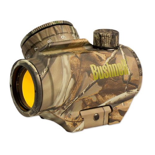 Bushnell Trophy TRS-25 Camo Red Dot Sight Riflescope, Realtree APG, 1 x 25mm