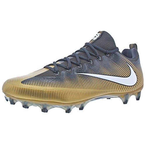 83dd0b0895454 NIKE Men's Vapor Untouchable Pro Football Cleat (16, Saints)