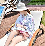 Klaury Nursing Breastfeeding Cover Scarf, Multi-Use Soft Breathable Washable Infinity Stretchy Shawl Best Gift for Pregnant Woman,B