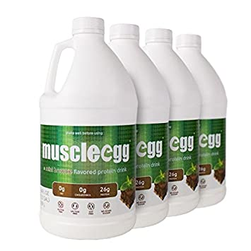 100% MINT BROWNIE Liquid Egg Whites (4 half gallons)
