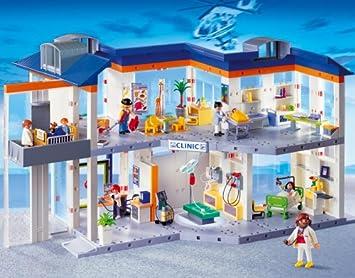 Playmobil 4404 Großes Krankenhaus Mit Einrichtung