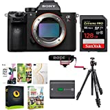 Sony Alpha a7RIII Digital Camera (Body Only) with Rode Video Mic GO Microphone & 128GB Accessory Bundle