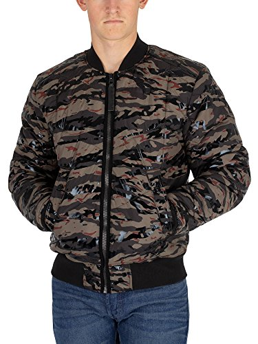 G-Star Men's Whistler Quilted Bomber Jacket, Green, for sale  Delivered anywhere in USA