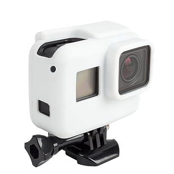 telesin carcasa de silicona para GoPro Hero5 Black Edition marco vivienda, cámara Frame caso cubierta de goma Protector piel para Hero5 marco caso