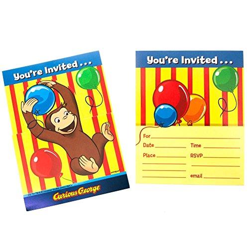 Curious George Invitations (Curious George Invitations)