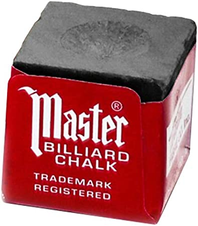 Master/Taco de Billar Tiza de Billar, 12 Cubos, Gris: Amazon.es ...
