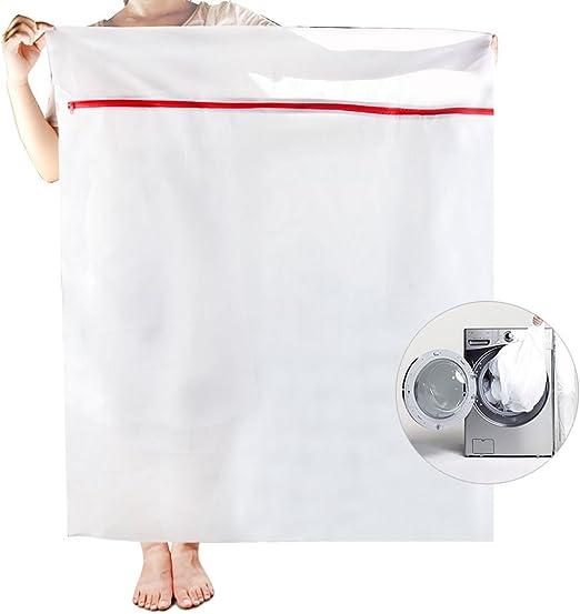 OTraki Bolsa para la ropa de malla cremallera de 90 x 110 cm ...