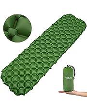 Osaloe Camping Isomatte, Ultraleicht Aufblasbare Isomatte, Wasserdicht & Kompakt Aufblasbare Schlafmatte für Camping, Outdoor,Reise, Wandern, Strand