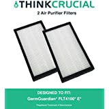 2PK GermGuardian AC4100 Series E Air Purifier Replacement Filters for GermGuardian Air Purifiers, Part # FLT11CB4, by Think Crucial