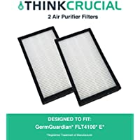 2 Replacements for GermGuardian E Air Purifier Filter Fits AC4100 Series Air Purifiers, Compatible With Part # FLT11CB4, by Think Crucial