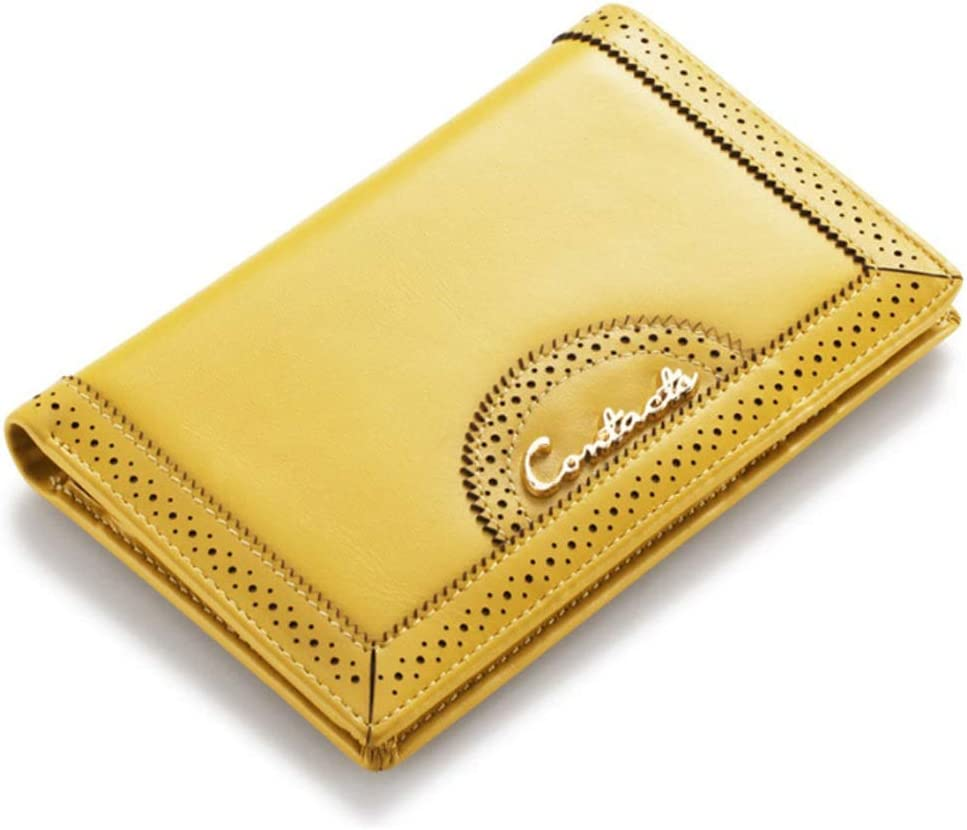 Color : Yellow, Size : S LDUNDUN-BAG 2019 Fashion Clutch Bag Coin Purse Multi-Function Wallet Womens Wallet