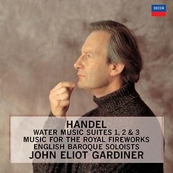 ヘンデル:水上の音楽/王宮の花火の音楽