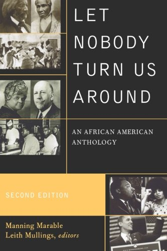 Books : Let Nobody Turn Us Around: An African American Anthology